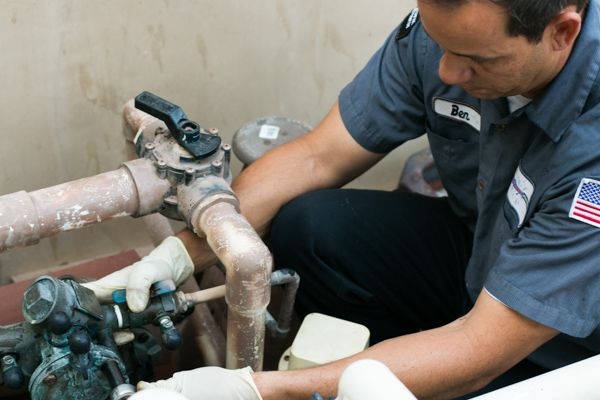 backflow testing by our plumber in Corona del Mar, CA